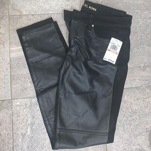 MK Leather Jeans